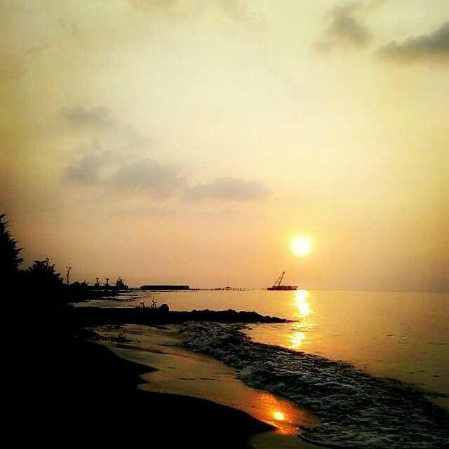 wisata di tegal - pantai alam indah