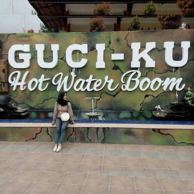 wisata tegal guciku water boom, jalan-jalan tegal