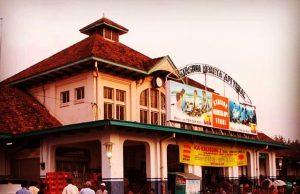 Stasiun Kota Tegal sebelum pemugaran