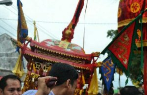 Perayaan Cap Gomeh di Klenteng Hokie Kiong Slawi