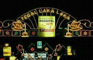 wisata tegal Hiasan lampu sepanjang jalan ahmad Yani Tegal