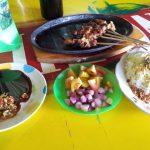 makanan khas Tegal - sate kambing muda batibul sari mendo